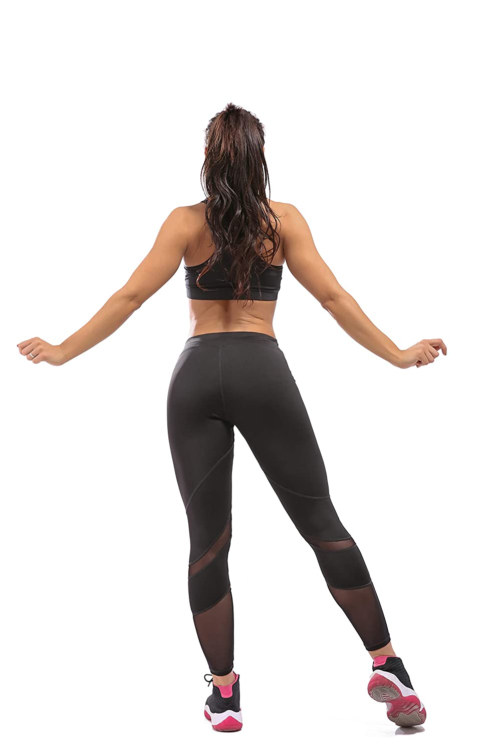 33c82d566e Amazon.com: OwnShoe Yoga Pants Ankle-Length Tummy Control Workout Dance  Running Sexy Leggings for Women: Clothing