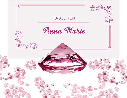 ROSE GOLD DIAMONTE CRYSTALS TABLE SPRINKLES DECORATION FOR YOUR PARTY
