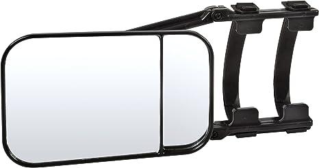 Festnight Traino Specchi Trailer Traino Energia Doppio Specchio Specchietto Retrovisore a Clip Universale Estensione Traino Specchio Bicchiere Specchietto Retrovisore per Car Caravan Trailer