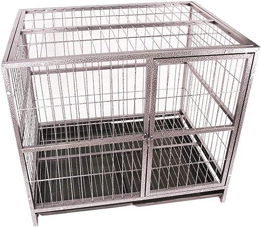 vente pas cher le prix reste stable juste prix LTLJX Cage pour Chiens, Grand Rongeur Cage Enclos pour Chien ...