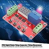 Akozon Digital Window Voltage Comparator 12V/24V