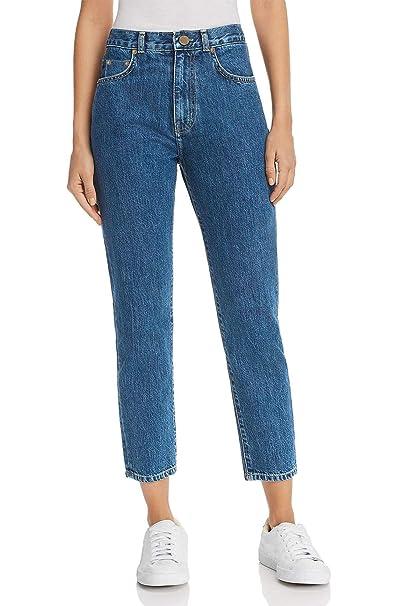 Amazon.com: MONYRAY pantalones vaqueros de cintura alta para ...
