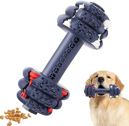 HETOO Juguetes para masticar para perros cuidado dental y limpieza de dientes indestructibles perros resistentes y duraderos juguetes para masticar agresivos