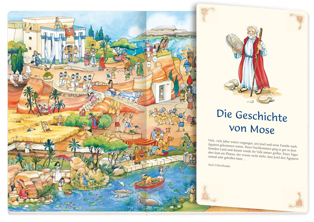 Kinder Bibel Wimmelbuch - L'Espoir christlicher Shop