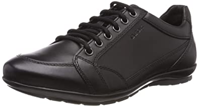 | Geox U Symbol D Mens Smooth Leather Sneakers