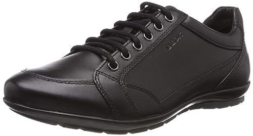 Geox U Symbol D, Zapatos de Cuero para Hombre, Negro (Black C9999),: Amazon.es: Zapatos y complementos