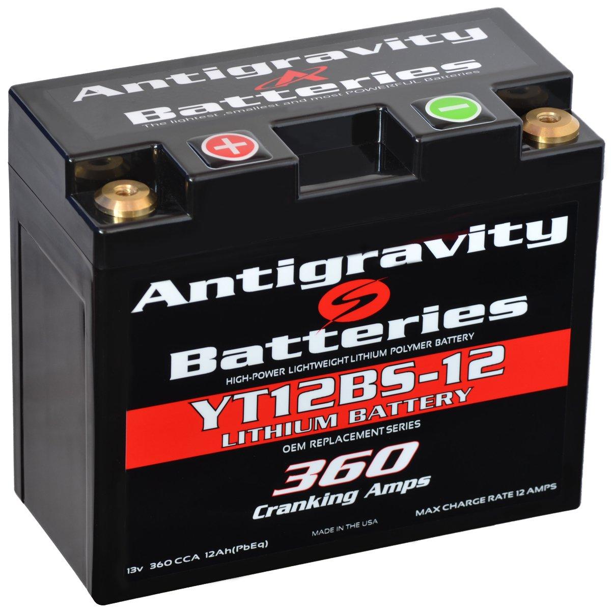 Anti Gravity (アンチ グラビティー) バッテリー YT12-BS OEM case 12cell 5-7/8