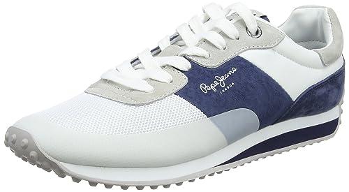 8870965886f Pepe Jeans Men s Garret Sailor Trainers  Amazon.co.uk  Shoes   Bags