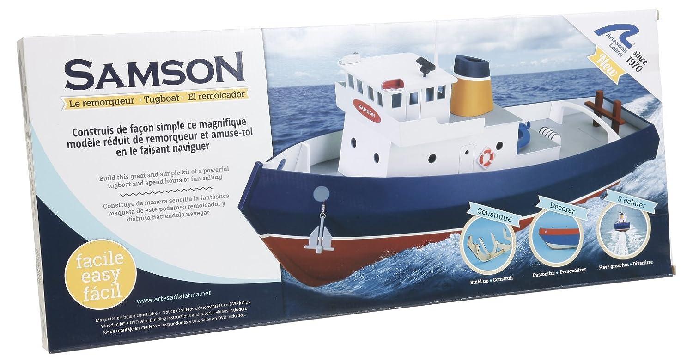 Scala 1//15 Artesania Latina 30530 Modello in Legno Navigabile Nave Rimorchiatore Samson