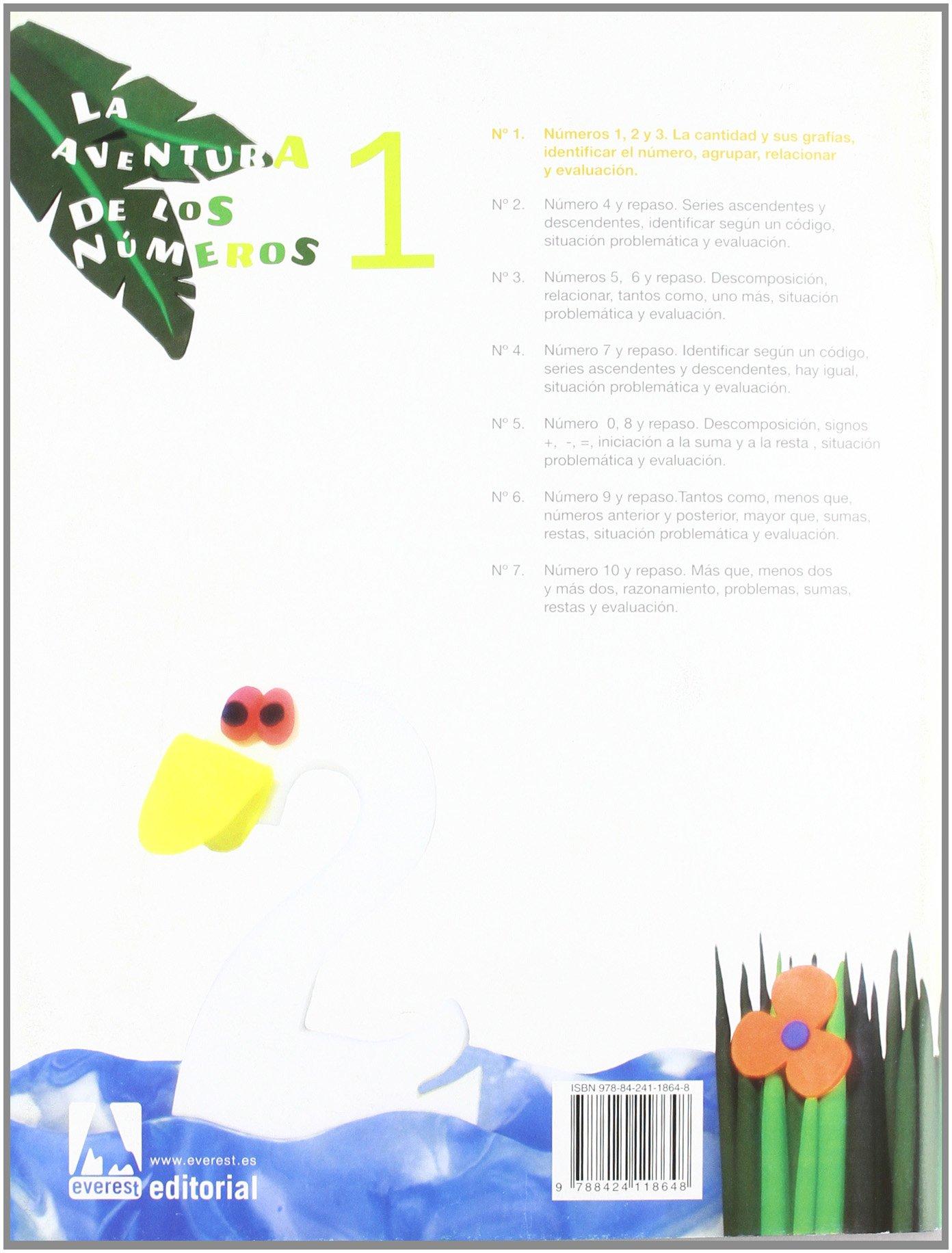 La aventura de los números 1 - 9788424118648: Amazon.es: Díez Torío Ana  María, Estébanez Estébanez Aurora, Calvo Rojo María del Carmen: Libros