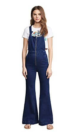 cheapest modern techniques 60% clearance Amazon.com: Rolla's Women's East Coast Flare Overalls ...