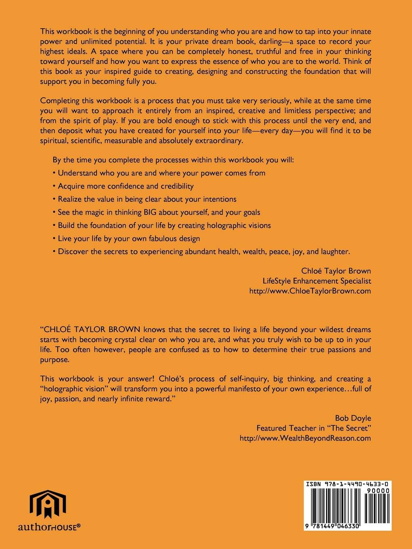 Determine Your Ideal: LifeStyle Enhancement Workbook: Chloé
