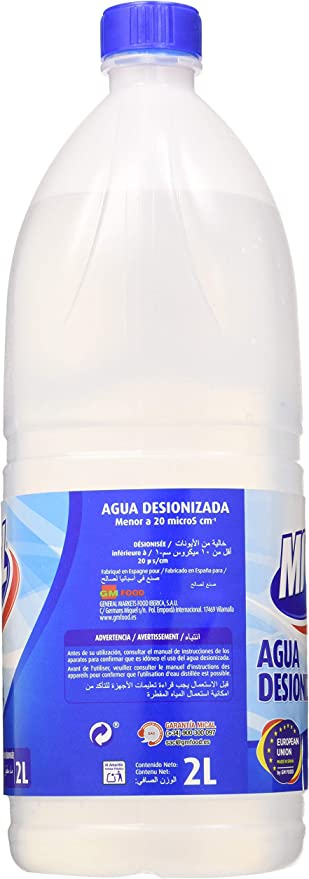 Amazon.es: Mical - Agua Destilada - 2 l