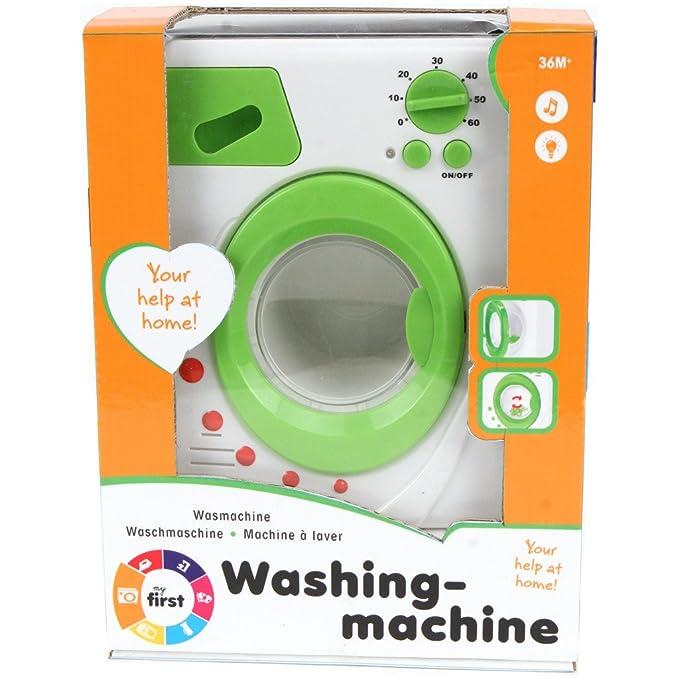 My First Washing Machine 473-3216. Lavadora: Amazon.es: Juguetes y ...