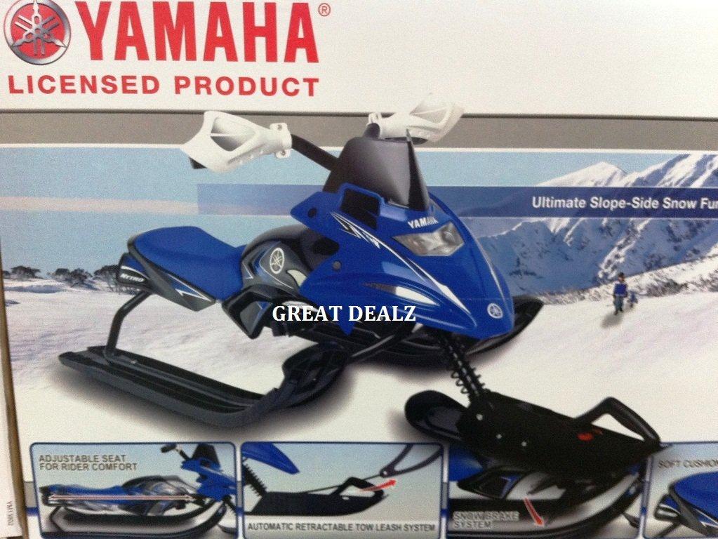 Snow Sliders Yamaha Snow Bike Sled Sports Outdoors