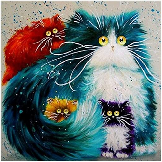 DIY Animal 5D Diamond Painting Embroidery Cross Craft Stitch Kits Home Decor