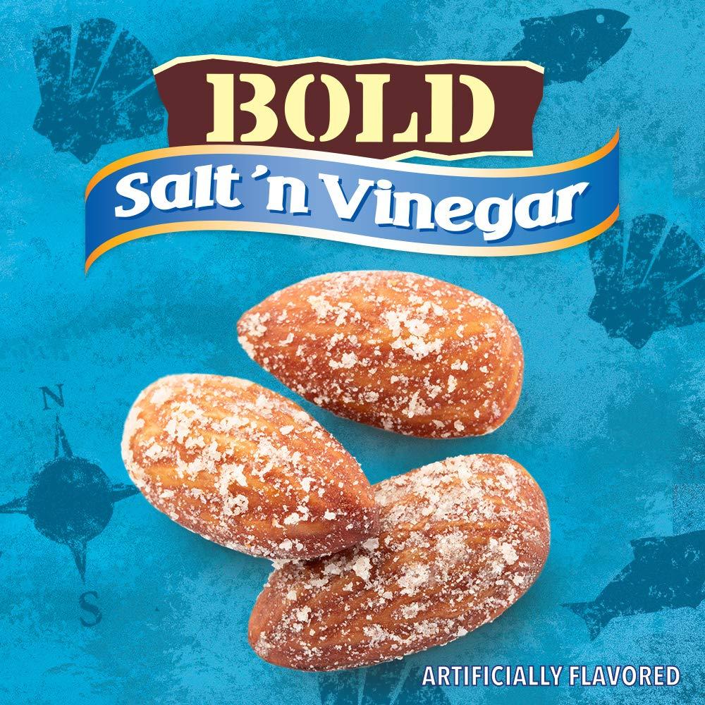 Blue Diamond Almonds BOLD Favorites Variety Pack - Salt 'n Vinegar, Habanero BBQ, & Wasabi & Soy Sauce, 16 Ounce BOLD Variety Pack (Pack of 3) by Blue Diamond Almonds (Image #4)