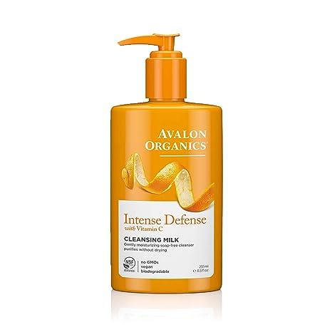Avalon Organics intenso defensa vitamina C Hidratante Leche Limpiadora 250 ml