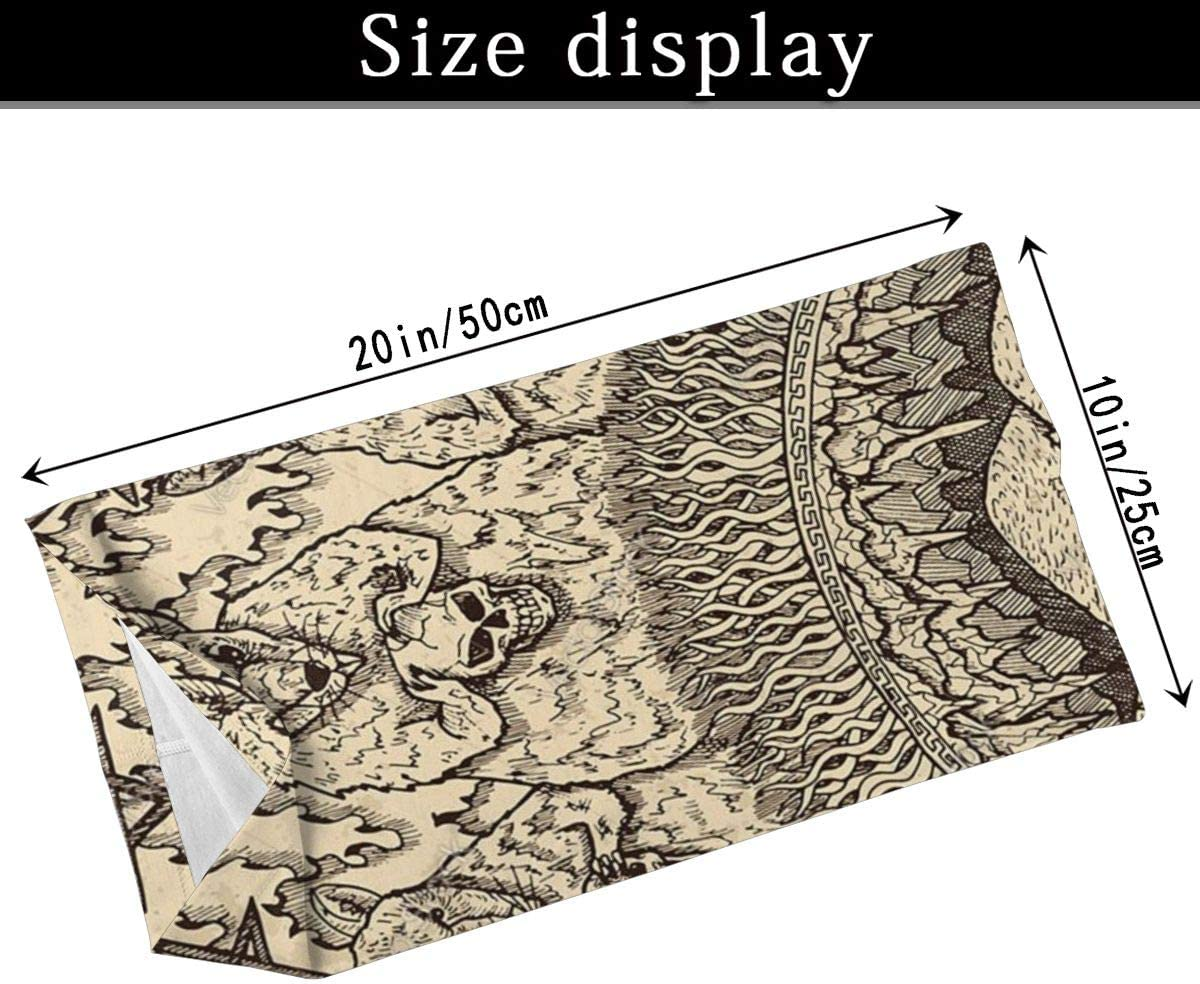 1 Scarf with Filters Soutibaowen22 Rats Mystic Concept for Lenormand Variety Face Towel Face Mask Scarf Balaclavas Unisex Multi Functional Headwear for Outdoor Sports
