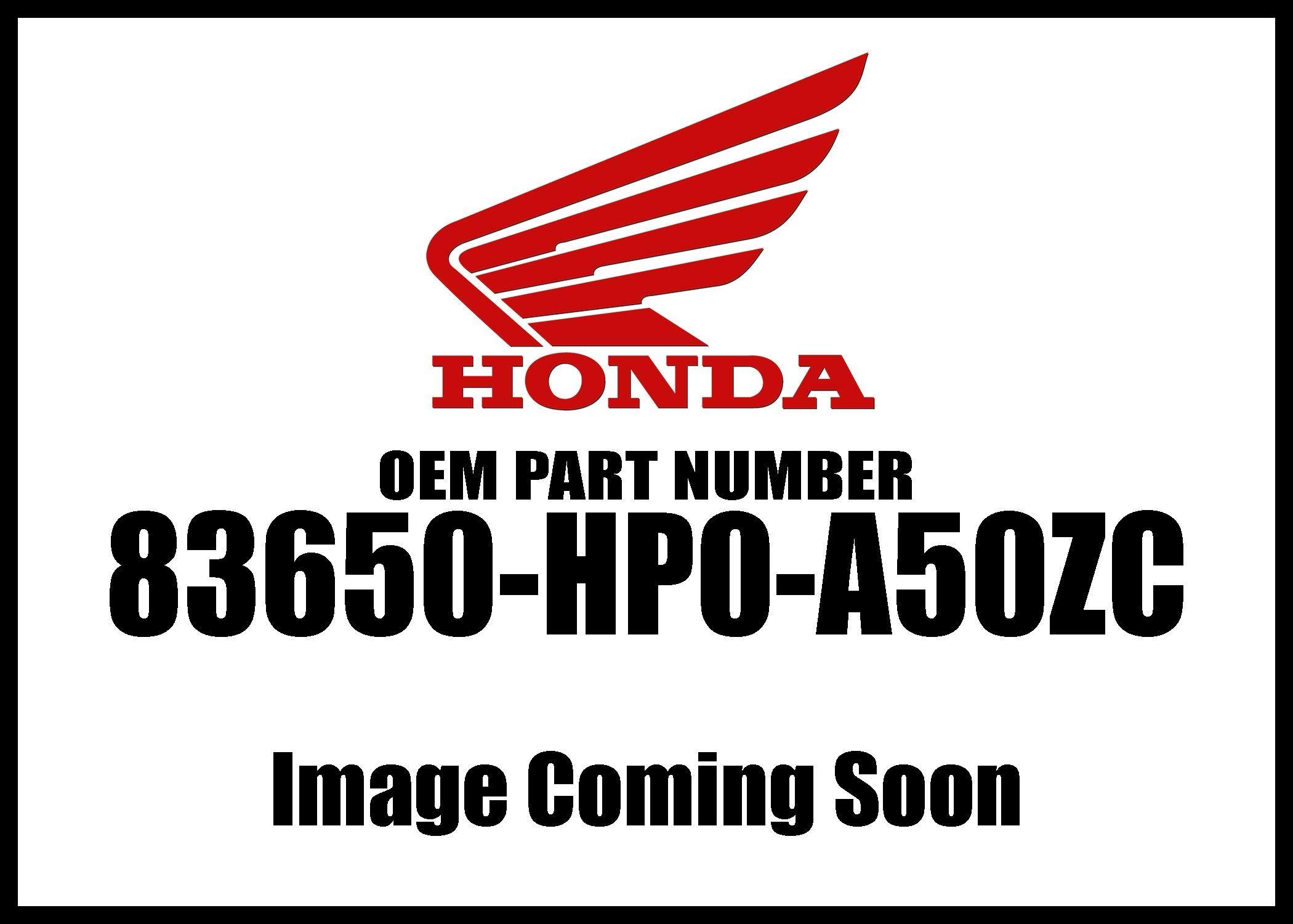Honda 2007-2008 TRX Left Type4 Cover 83650-HP0-A50ZC New OEM