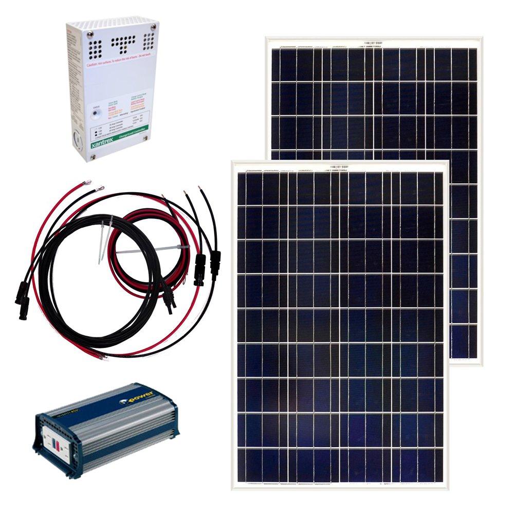 Amazon.com : Grape Solar GS-200-KIT 200-Watt Off-Grid Solar Panel Kit :  Garden & Outdoor