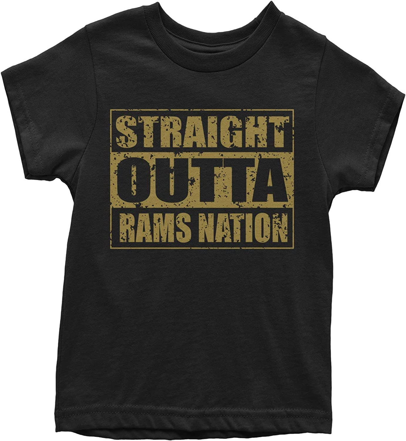 Motivated Culture Straight Outta Rams Nation Football Youth T-Shirt