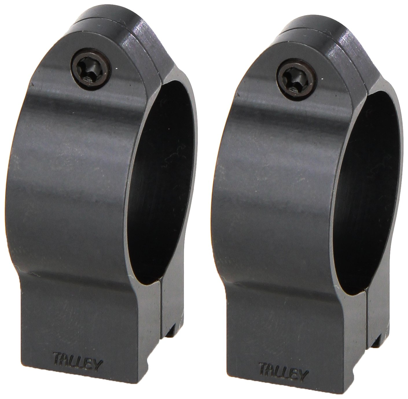 Talley Rimfire Rings for CZ Scope Mount, Blue, 1-Inch/Low by Talley