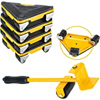 Moonmen Heavy Duty Furniture Lifter with Triangle Moving Sliders Mover Tool Set Easy Moving Appliance, Max Load for…