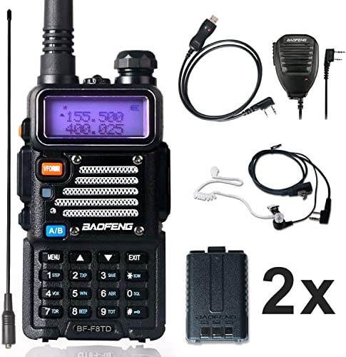 Ham Radio Baofeng Radio 8Watt UHF VHF Dual Band Baofeng Walkie Talkie