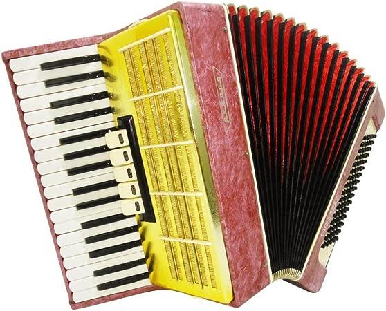 Russian Piano acordeón Akkord Orion, 80, guitarra, teclado y ...