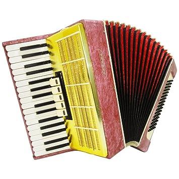 Russian Piano acordeón Akkord Orion, 80, guitarra, teclado y Acordeón 917, excelente