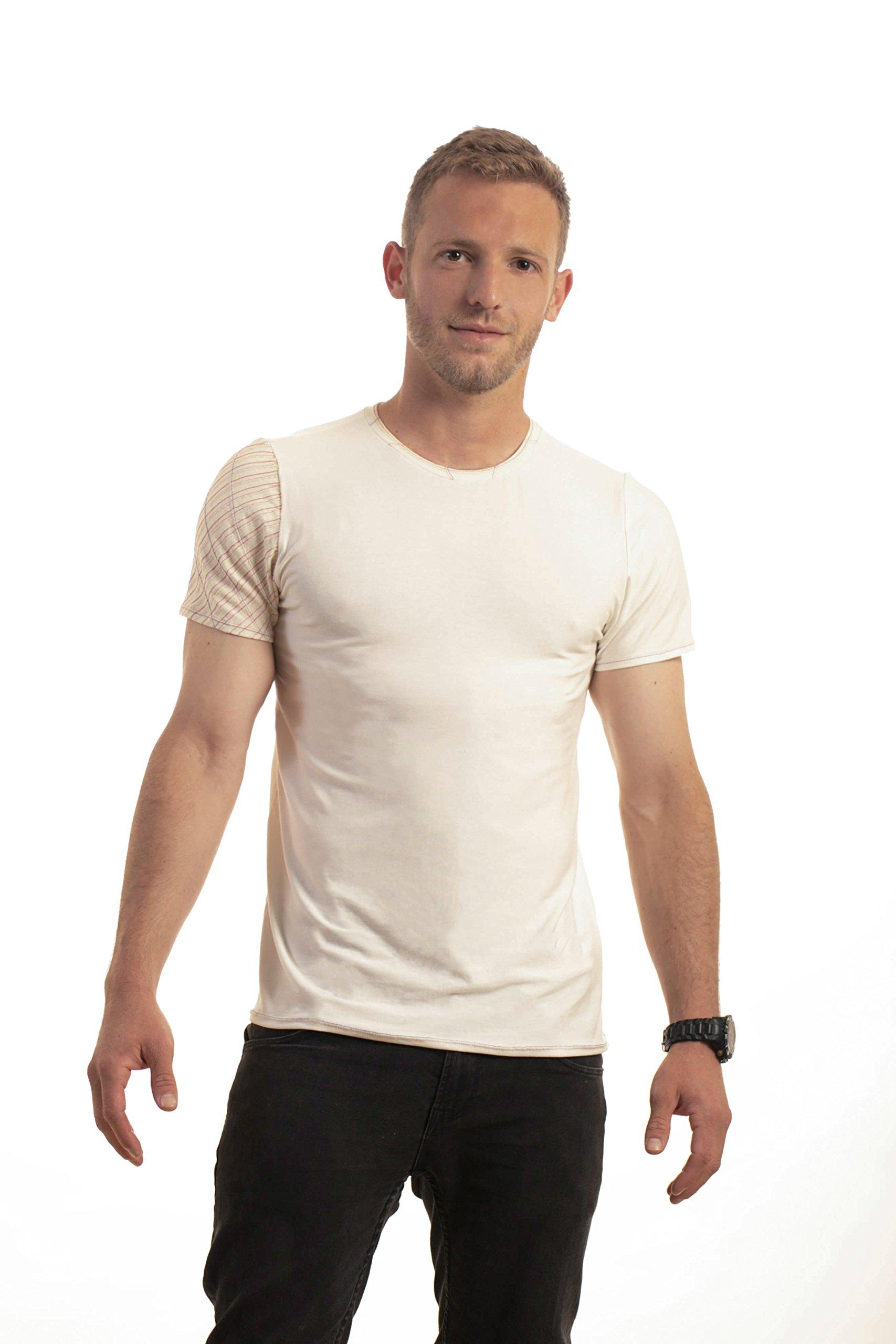 Handmade shirt, Mens White Shirt, Mans T-shirt, Design tshirt, Mens clothing, Man's Top, Unique shirt, Men's Clothing, mens fashion clothing