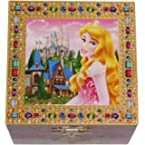 Disney Park Sleeping Beauty Aurora Musical Jewelry Box NEW