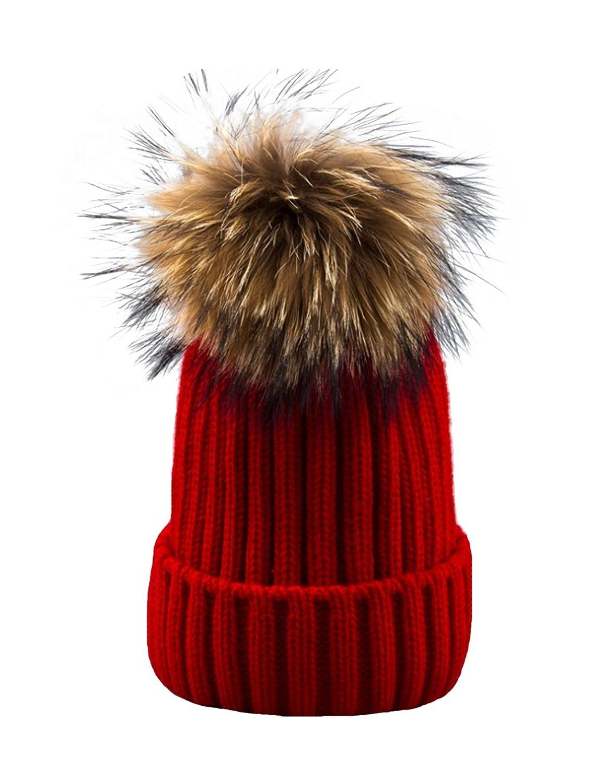 Jueshanzj Womens Mens Hat Knitting Pom Pom Cap Beanie ZTJSWJ0286-5