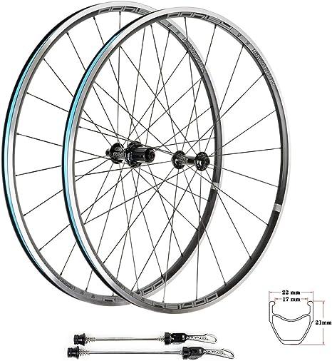 TianyiTrade 700c Rueda Llanta Carretera Bicicleta 8 9 10 11 ...