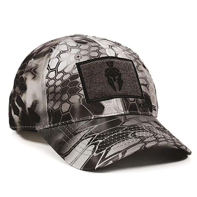 3833de53582 Kryptek Raid Camo Spartan Helmet Tape Patch Hunting Hat  Amazon.ca  Clothing    Accessories