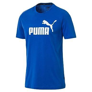 new product fc259 122d0 Puma Men's Ess Logo Tee T-Shirt