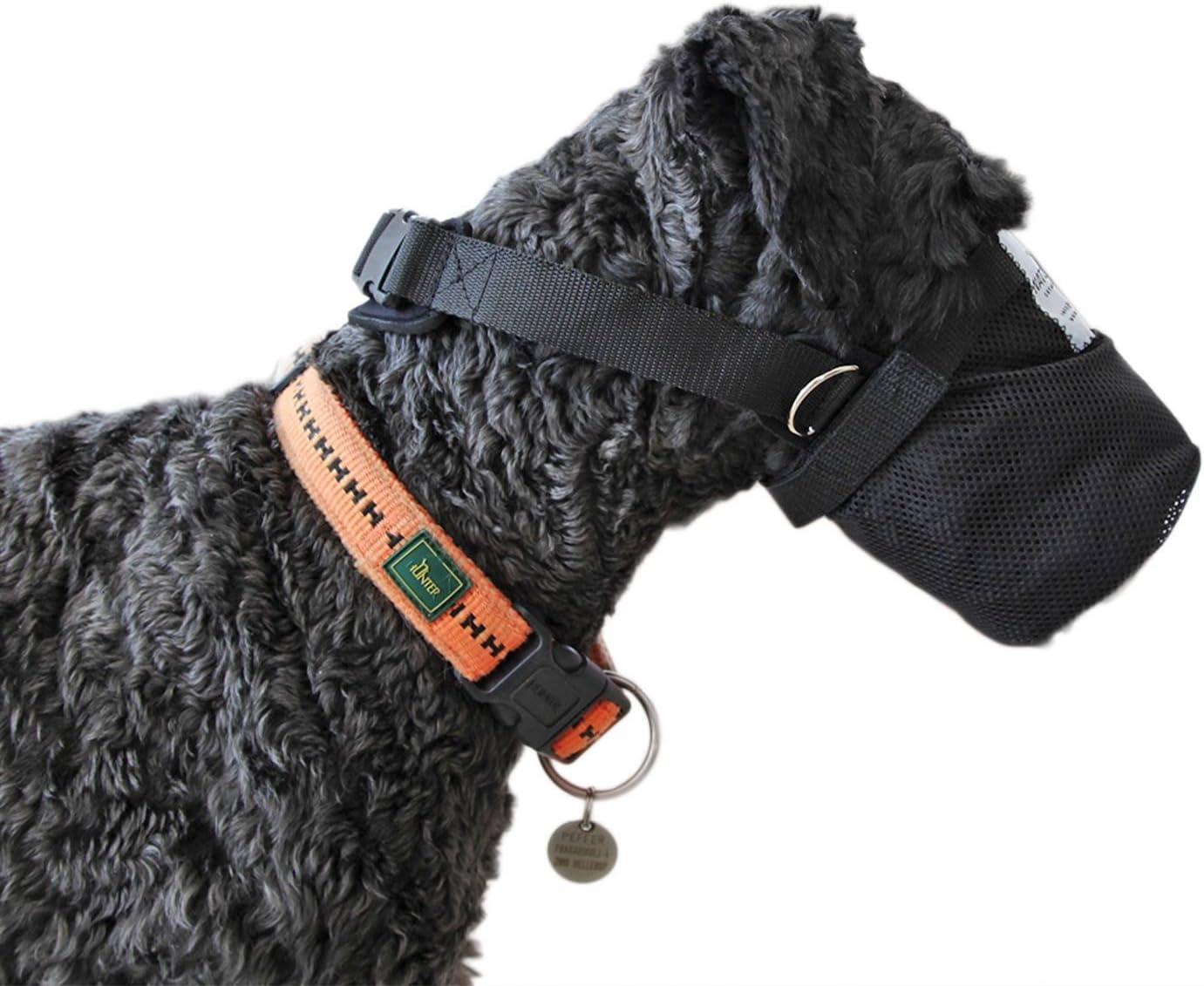 Nature Pet Gift Cebo Red Protectora/Maul Cesta/Red de Seguridad para Perros de Neopreno (XS)