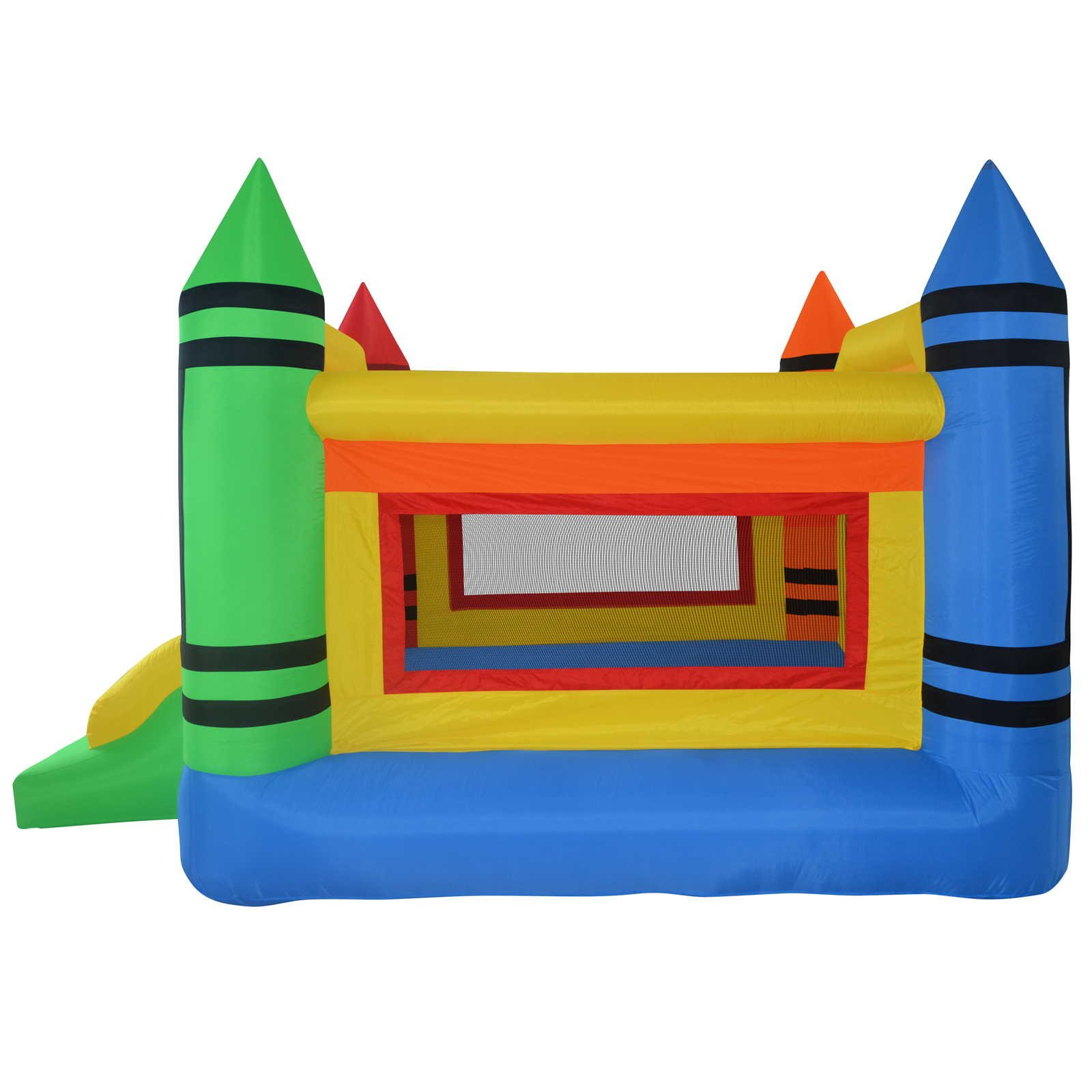 Cloud 9 Mighty Bounce House - Mini Crayon - Inflatable Kids Jumper with Blower by Cloud 9 (Image #2)