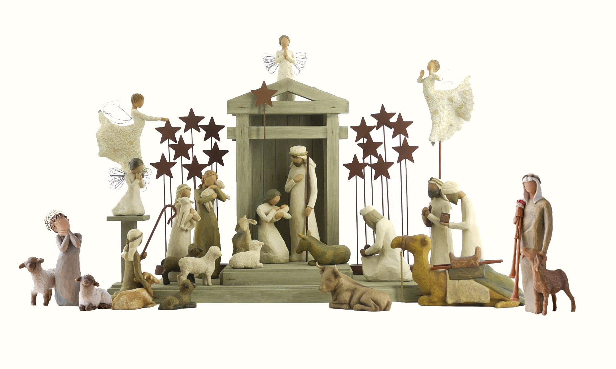 28 Pc. Willow Tree Nativity Package by Willow Tree (Image #1)