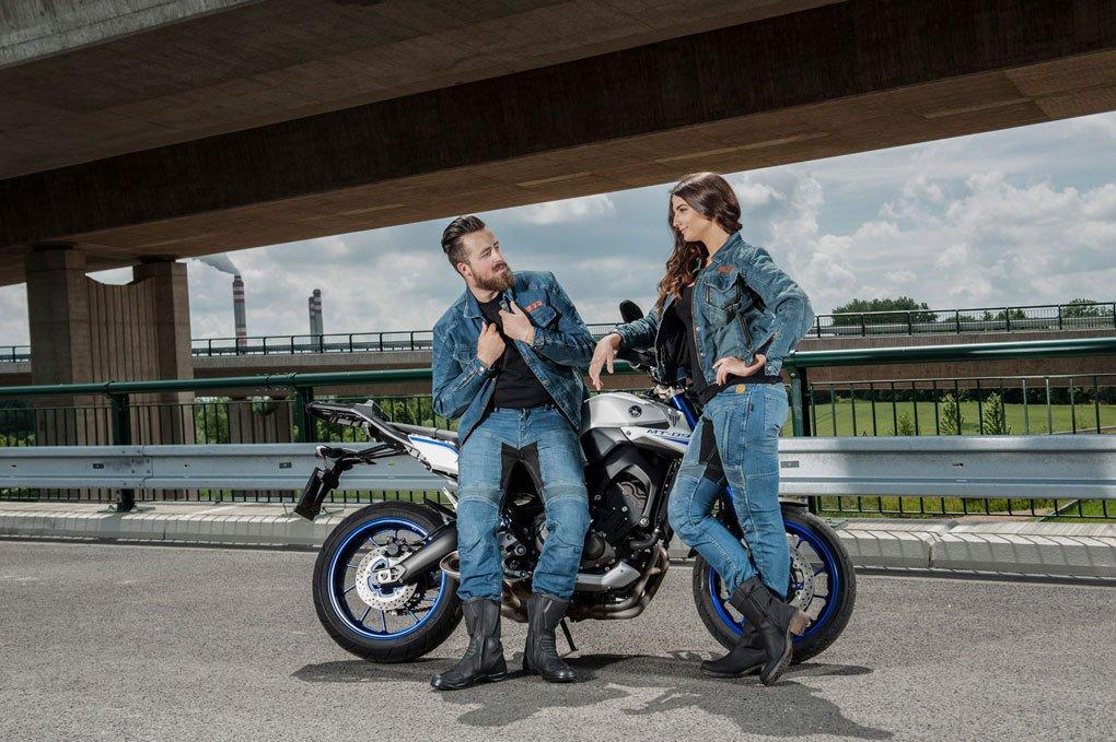 Trilobite Forcefield PARADO Herren Motorrad Hose lang Jeans Schutz verst/ärkt 3066114 Gr/ö/ße 36//52
