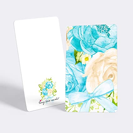 Amazon tiny love cards set of 85 cute blank mini cards for tiny love cards set of 85 cute blank mini cards for hand written notes m4hsunfo
