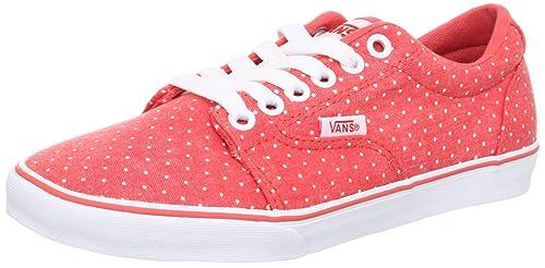 Vans W KRESS (WASHED DOTS) C - Zapatillas de lona mujer, color naranja, talla 36.5: Amazon.es: Zapatos y complementos