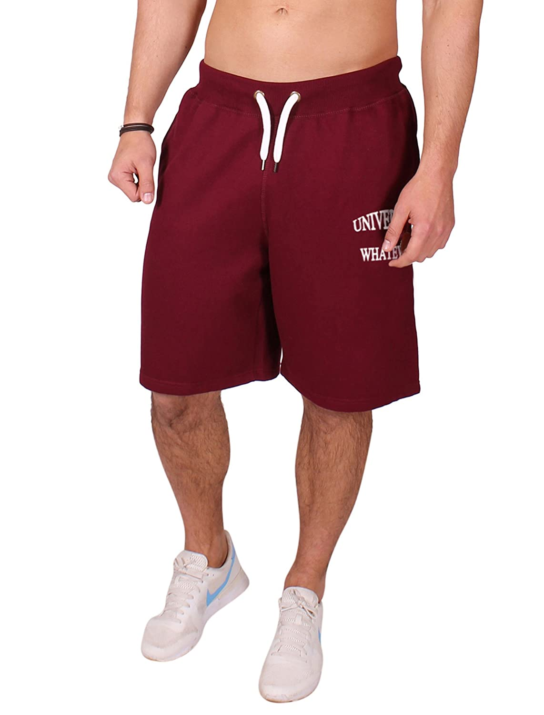 UOW - Short de Sport - Relaxed - À Logo - Homme