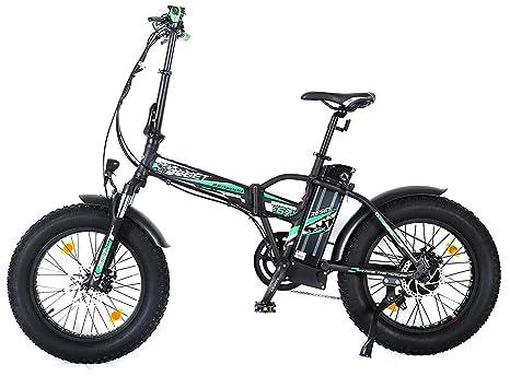 Reset Fat Bike Bicicletta Elettrica Pieghevole A Pedalata Assistita