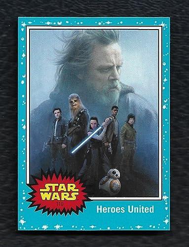 Topps Star Wars 2017 Journey To The Last Jedi Blueprints Insert Set 7 Cards