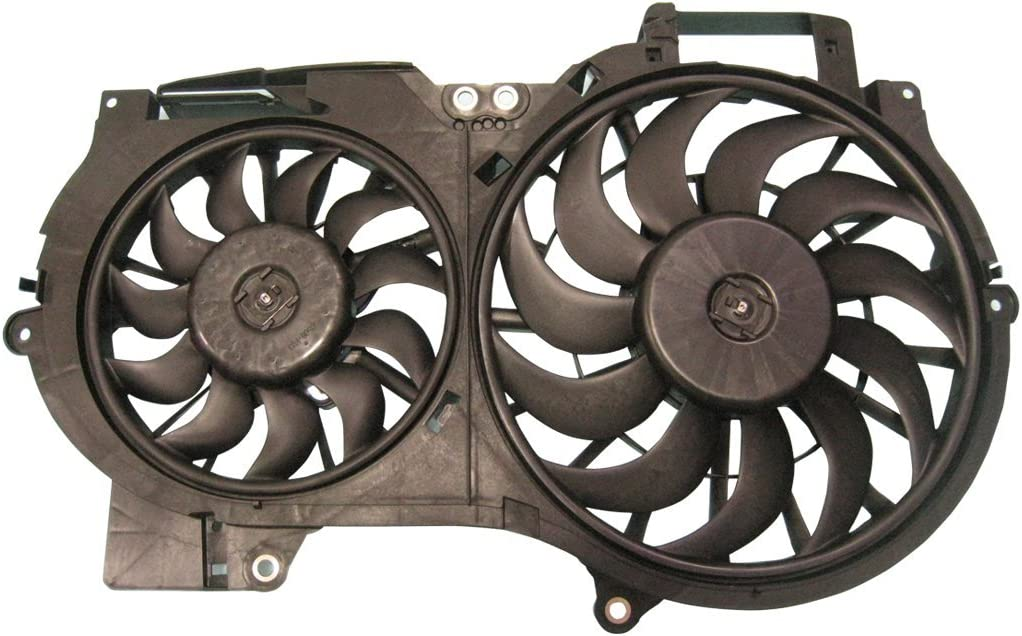 TYC 622710 Replacement Cooling Fan Assembly for Audi A6