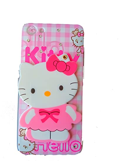 meet e2c1f 44b76 Anvika Mirror Hello Kitty Special Girl's Printed Back Case Cover for Vivo  Y81 (Colours May Vary)