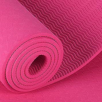 Alfombra De Yoga Antideslizante TPE Sin Contaminantes ...