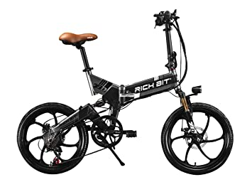 Bicicleta plegable doble suspension
